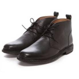 ロンドンシューメイク London Shoe Make グッドイヤーウエルトオールレザーハンドメイドレースアップブーツ(ブラック)