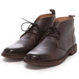 ロンドンシューメイク London Shoe Make グッドイヤーウエルトオールレザーハンドメイドレースアップブーツ(アンティークダークブラウン)