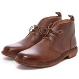 ロンドンシューメイク London Shoe Make グッドイヤーウエルトオールレザーハンドメイドレースアップブーツ(アンティークブラウン)
