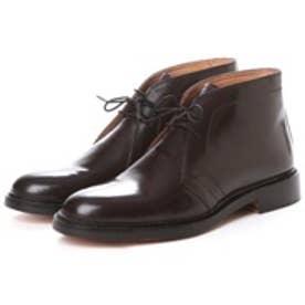ロンドンシューメイク London Shoe Make グッドイヤーウエルトオールレザーハンドメイドスタンダードチャッカーブーツ(ブラウン)