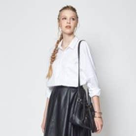 ティティベイト titivate ドロップショルダービックシャツ (ホワイト)