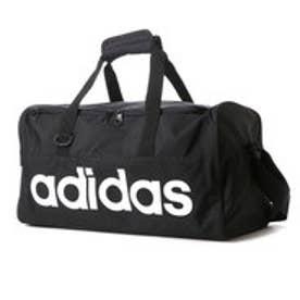 アディダス adidas ダッフルバッグ リニアチームバッグ S AJ9927  457 (ブラック/ブラック)
