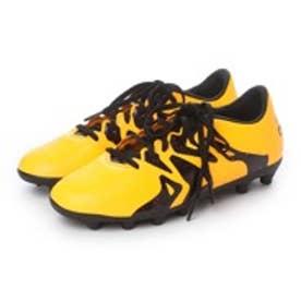 アディダス adidas ジュニアサッカースパイク エックス15.3-ジャパン HG J AF4757 2769 (ソーラーゴールド×コアブラック×ショックピンク S16)