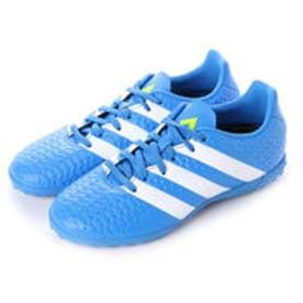 アディダス adidas ジュニアサッカートレーニングシューズ エース Ace 16.4 TF J AF5080 2778 (ショックブルーS16×ランニングホワイト×セミソーラースライム)