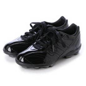 アディダス adidas ジュニア野球スパイク アディピュア ポイント 2 K adiPURE point 2 K S85349 (コアブラック/コアブラック/ゴールドメット)