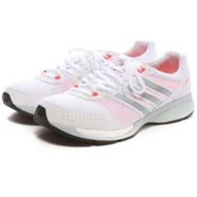 アディダス adidas ランニングシューズ アディゼロ CS ブースト ワイド adizero CS boost W B44315 ホワイト 4510