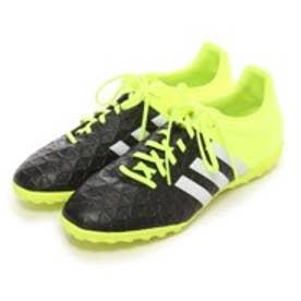 アディダス adidas サッカートレーニングシューズ エース 15.4 TF B27019 ブラック 3083 (ブラックYL)