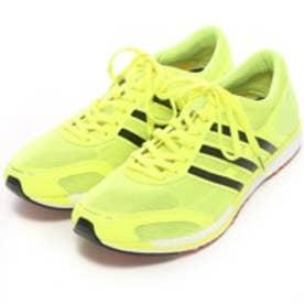 アディダス adidas ランニングシューズ アディゼロ タクミ セン ブースト adizero takumi sen boost B22890 4585 (フラッシュイエローBK)