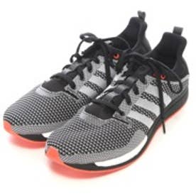 アディダス adidas ランニングシューズ アディゼロ フェザー ブースト adizero Feather boost AF6166 4613 (ブラックWH)