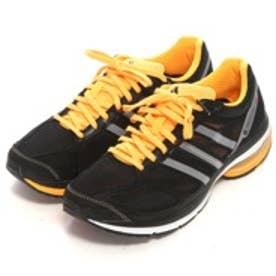 アディダス adidas ランニングシューズ アディゼロ タクミ イドミ ワイド adizero takumi idomi W M19017 4446 (ブラック)