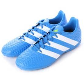 アディダス adidas サッカートレーニングシューズ エース Ace 16.4 TF AF5058 3195 (ショックブルーS16×ランニングホワイト×セミソーラースライム)
