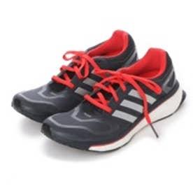 アディダス adidas ランニングシューズ エナジーブースト energy boost G97561 4290 (ブラック×シルバー)