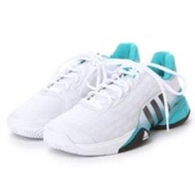 アディダス adidas テニスシューズ(オールコート用) バリケード 2016 AF6796     ホワイト 534 (ランニングホワイト×コアブラック)