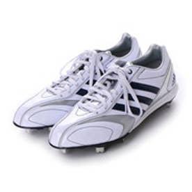 アディダス adidas 野球スパイク アディピュア adiPURE 2 low Q16753 (クリスタルホワイト S16/カレッジネイビー/カレッジネイビー)