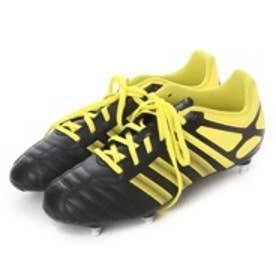 アディダス adidas ラグビースパイク R15 SG S75434 ブラック 15 (ブラック×イエロー)