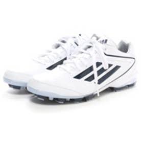 アディダス adidas 野球スパイク アディゼロ adizero 4 ポイント C76607 ホワイト 348