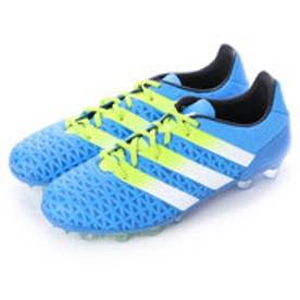 アディダス adidas サッカースパイク エース 16.2-ジャパン HG AF5122 3182 (ショックブルーS16×セミソーラースライム×ランニングホワイト)
