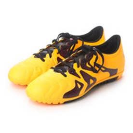 アディダス adidas サッカートレーニングシューズ エックス X 15.3 TF LE S74669 3196 (ソーラーゴールド×コアブラック×ショックピンク S16)
