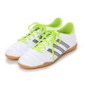 アディダス adidas フットサルシューズ パティークグローロ 16.2 IN AQ6667 1061 (ランニングホワイト×ナイトメット F13×セミソーラースライム)