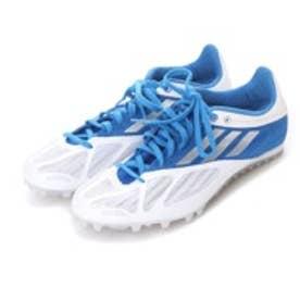 アディダス adidas 陸上スパイク アディスパイダー adispider wide Q35329 1153 (ホワイト×ブルー)