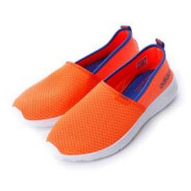 アディダス adidas ライト スリップオン LIGHT SLIPON F99413 4856 (ソーラーオレンジ/ブルー)