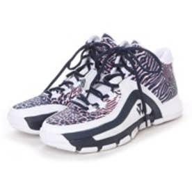 アディダス adidas バスケットボールシューズ ジョン ウォール 2 J Wall 2 F37130 380 (ランニングホワイト×スカーレット)