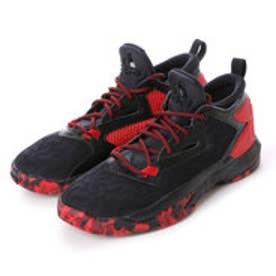 アディダス adidas ユニセックス バスケットボール シューズ B42387 22 (コアブラック/スカーレット/カレッジエイトバーガンテ)