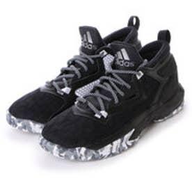 アディダス adidas ユニセックス バスケットボール シューズ B42383 21 (コアブラック/ランニングホワイト/グレー)