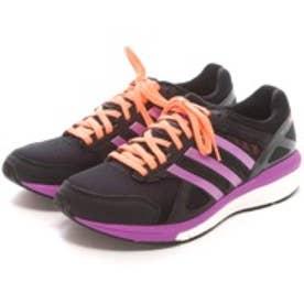 アディダス adidas ランニングシューズ アディゼロ テンポ ブースト W adizero Tempo boost Wide B40610 ブラック 4550