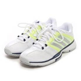 アディダス adidas テニスシューズ(オールコート用) バリケード チーム 4 ワイド barricade team 4 W B23119 252 (シルバーGR)