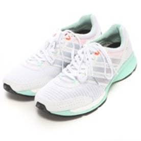 アディダス adidas ランニングシューズ アディゼロ シーエス ブースト ワイド adizero CS boost W B22900 4594 (ホワイトE/GR)