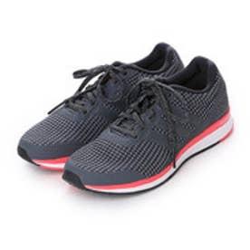 アディダス adidas ランニングシューズ マナ バウンス ニット ワイド Mana bounce Knit W AF4114 ブラック 4657 (ブラック×グレー)