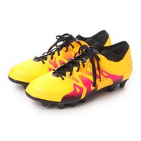 アディダス adidas サッカースパイク エックス X 15.1 ジャパン HG S74618 3186 (ソーラーゴールド×コアブラック×ショックピンク S16)
