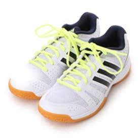 アディダス adidas バレーボールシューズ リグラ 3 ワイド LIGRA 3 W B33040 222 (ホワイト×ネイビー)