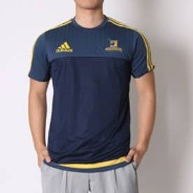 アディダス adidas ラグビープラクティスシャツ HIGHLANDERS パフォーマンスTシャツ AH4546 ブルー (ブルー)