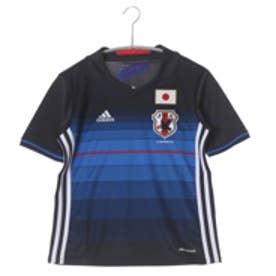 アディダス adidas キッズサッカー日本代表ホームレプリカユニフォーム2016 半袖 AA0312 (ナイトネイビー×ホワイト)