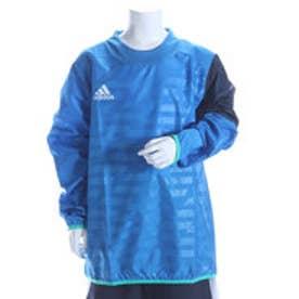 アディダス adidas ジュニアサッカーピステジャケット KIDS X Rengi ウィンドピステトップ AJ1308 ブルー  (ショックブルー)