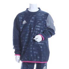 アディダス adidas ジュニアサッカーピステジャケット KIDS X Rengi ウィンドピステトップ AJ1307 ネイビー  (カレッジネイビー)