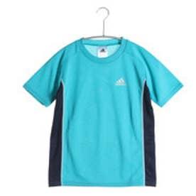 アディダス adidas ジュニア半袖Tシャツ AD IJB47 S6Y  (エメラルドグリン)