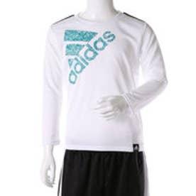 アディダス adidas ジュニア 長袖機能性Tシャツ Boys CLIMALITE クルーネック 長袖Tシャツ AZ7414