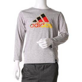 アディダス adidas ジュニア 長袖Tシャツ Boys カントリー ビッグロゴ AZ6658