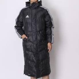 アディダス adidas ダウンジャケット SHADOW ロング パデッドコート LOU01