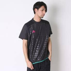 アディダス adidas サッカーハーフピステジャケット X Rengi ウィンドピステトップ 半袖 AJ1286  (ブラック)