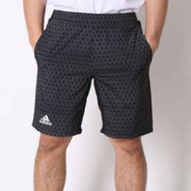 アディダス adidas テニスパンツ クラブ バミューダ AJ1555 ブラック (ブラック×ダークグレー)