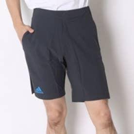 アディダス adidas テニスパンツ バリケード バミューダ AO0946 ブラック (ダークグレー×ショックブルーS16)
