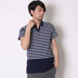 アディダス adidas ポロシャツ SC マリンボーダーポロシャツ M BIO42