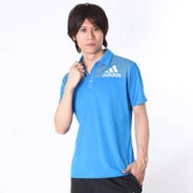 アディダス adidas ゴルフシャツ CP ビックロゴS/Sポロ KFZ66 (ショックブルー)