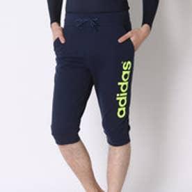 アディダス adidas ショートパンツ BC 裏毛スウェット3/4丈パンツ M BHO53 (ネイビー)