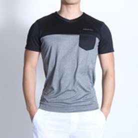 アディダス adidas Tシャツ HM テロテロ Tシャツ M BIO28 (ダークグレー×ブラック)