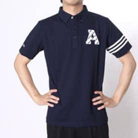 アディダス adidas ゴルフシャツ JP SP エンブレムS/Sポロ CCG53 (ネイビー)
